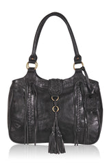 boho style leather bag