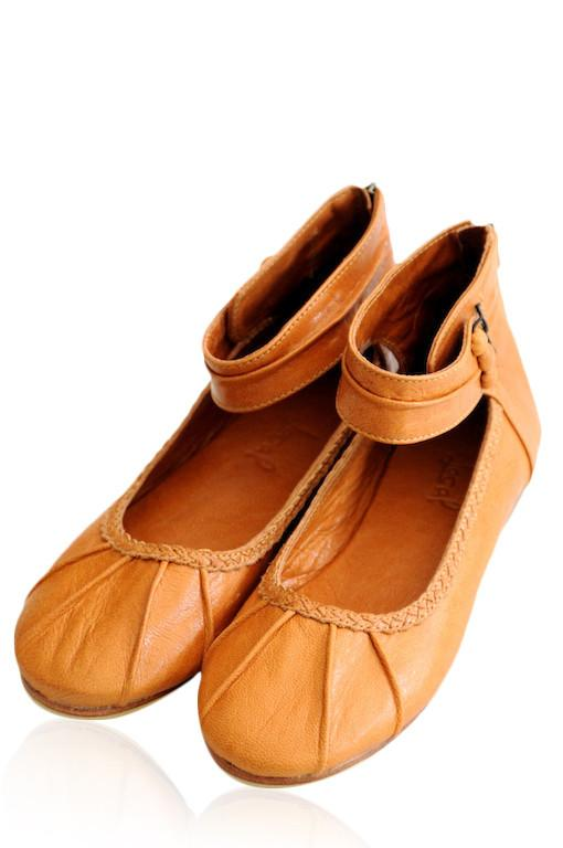 2aaaf1fe0c7 Womens leather flat shoes. Handmade from high qality leather. ELF