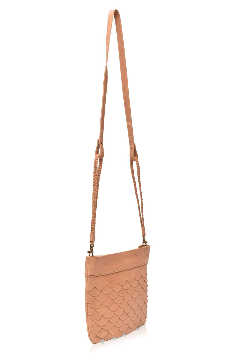Leather Wallet/Clutch - Cascade Crossbody Clutch