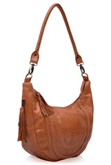 Elysian Coast Leather Crossbody Bag