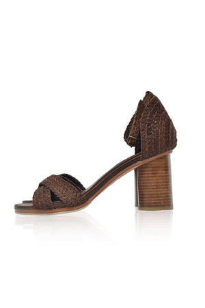 Bahamas Block Heel Sandals