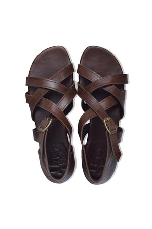 Te Amo Strappy Leather Sandals (Sz. 6, 7 & 8)