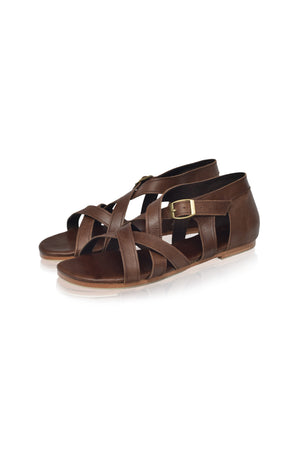 Te Amo Strappy Leather Sandals (Sale)
