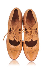 women leather oxfords