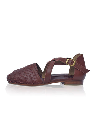 Riviera Leather Flats