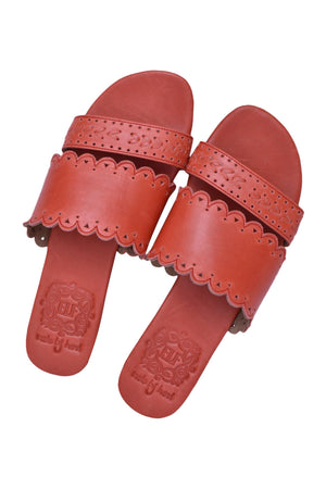 Leather Shoes - Palm Valley Slide Sandals