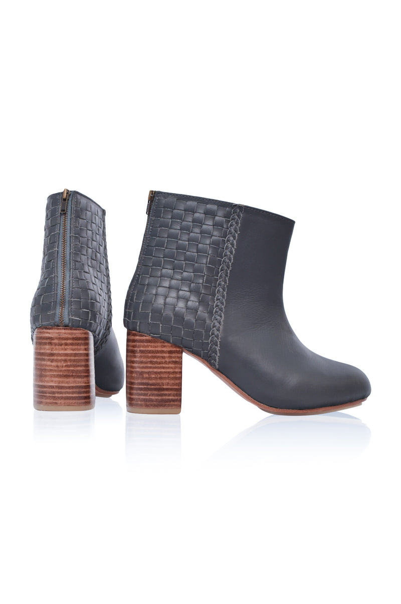 Desert Moon Block Heel Boot (Sz. 6.5 & 8.5)