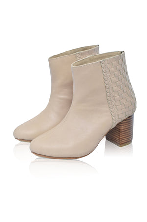 Desert Moon Block Heel Boot