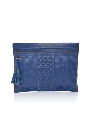 Espana Oversized Leather Clutch