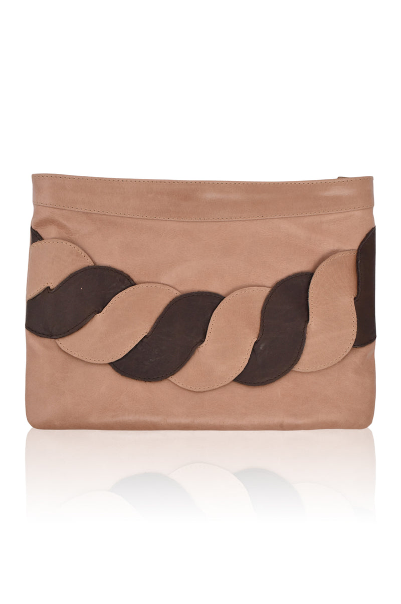 Esther Leather Clutch