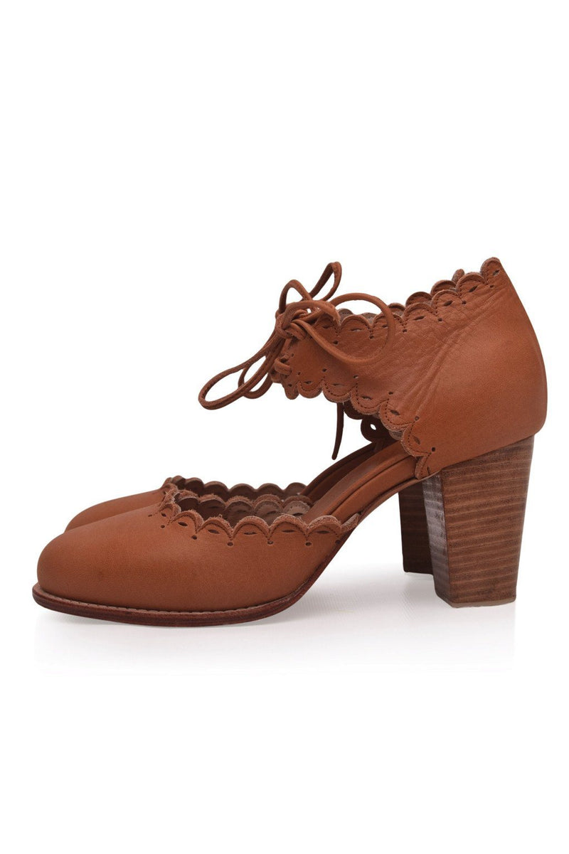 Leather Shoes - Dance Queen Heels