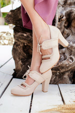 Hazel Leather Heels