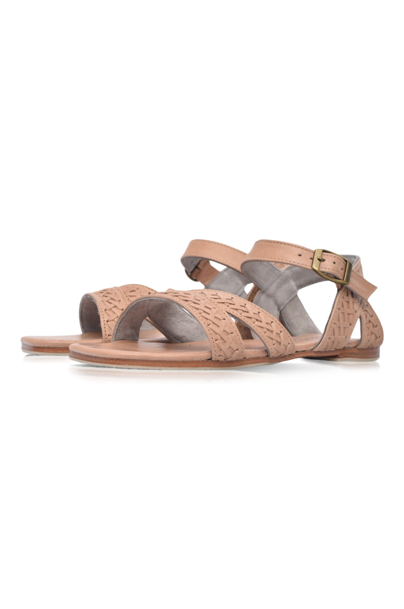 Alexa Strappy Leather Sandals