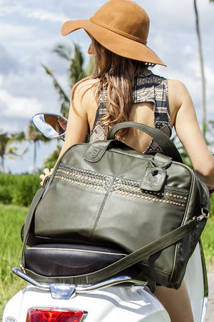 Leather Bag - Wild Escape Leather Travel Bag