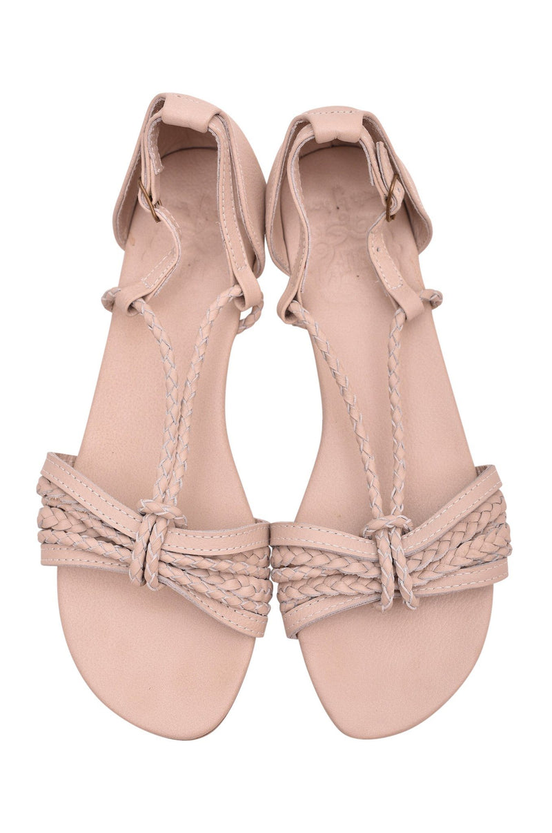 Leather Shoes - Blooming Day Strappy Sandals