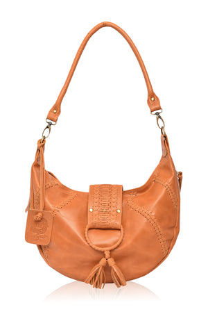 Jardin Leather Crossbody Bag