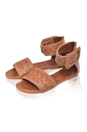 Madagascar Woven Leather Sandals