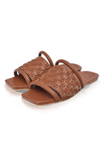 Majorca Leather Slides