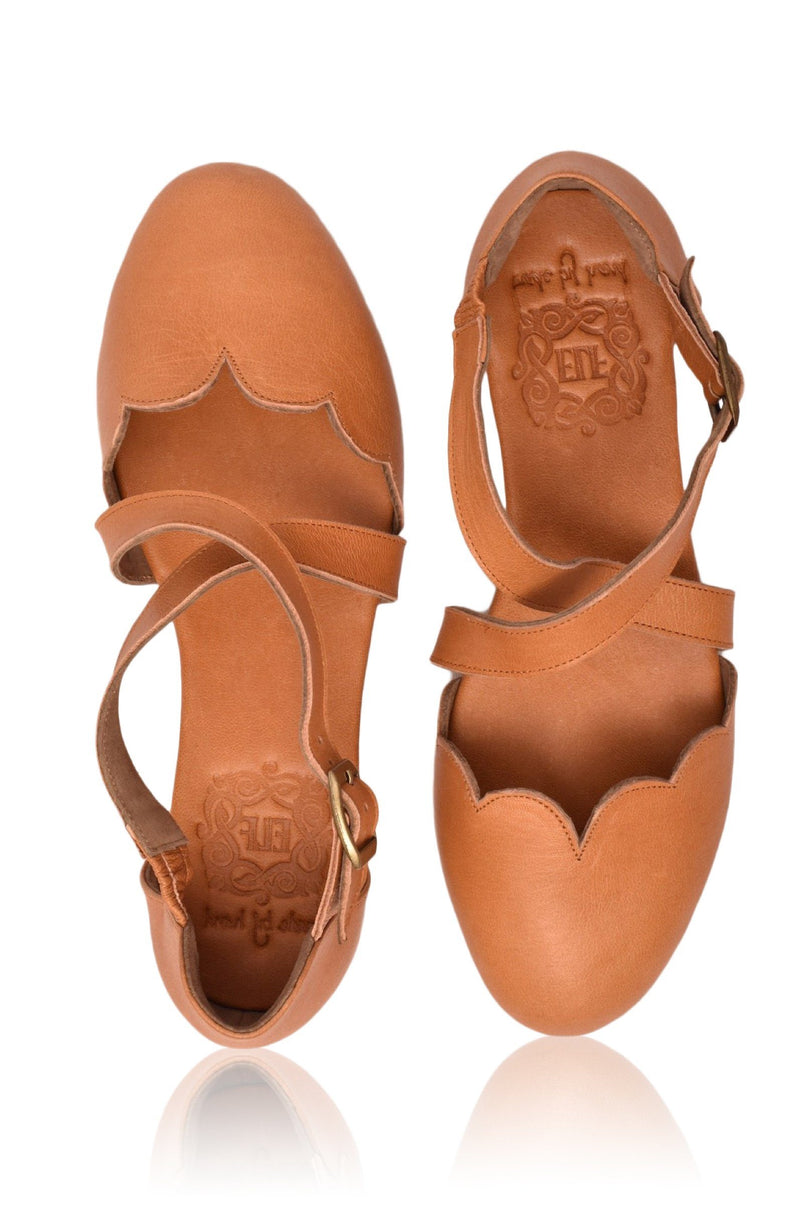 Leather Shoes - Mangrove Leather Flats