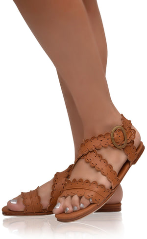 Leather Shoes - Mermaid Sandals
