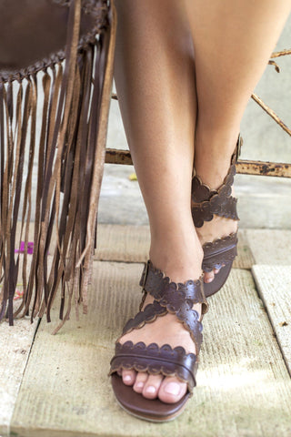 Aphrodite Wedge Sandals