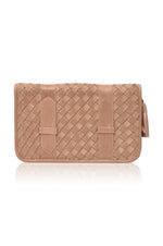 Mexico Woven Leather Wallet