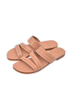 Mirage Slip On Leather Sandals