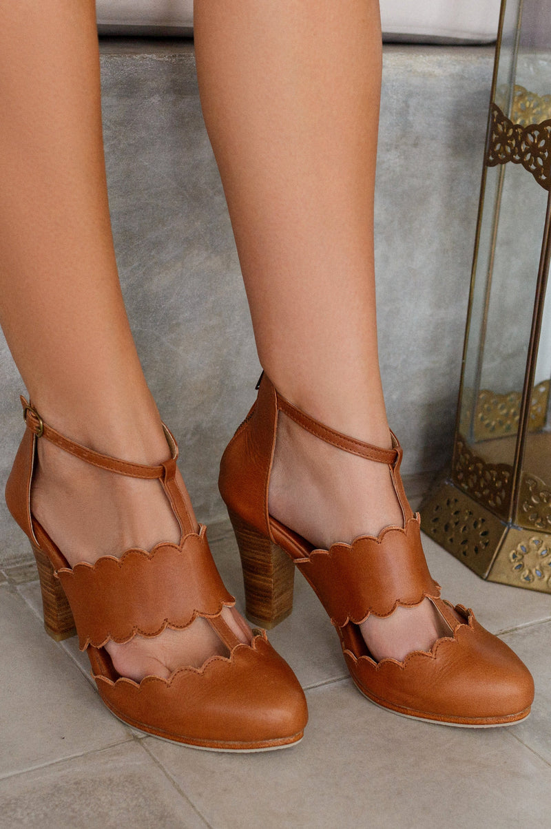 Incognito Leather Heels