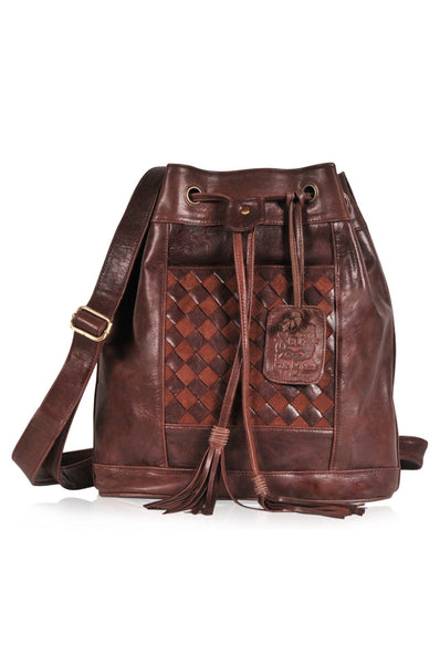 Leather bag made in Bali