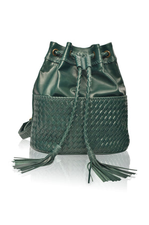Ocean Alley Convertible Leather Backpack