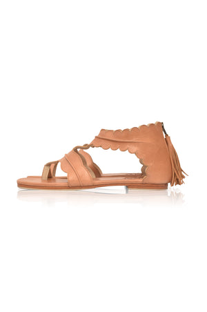 Oceania Thong Leather Sandals