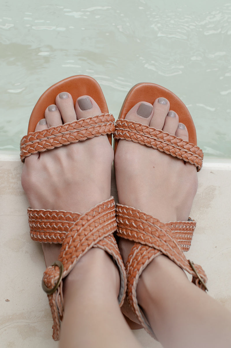 Orra Greek Leather Sandals