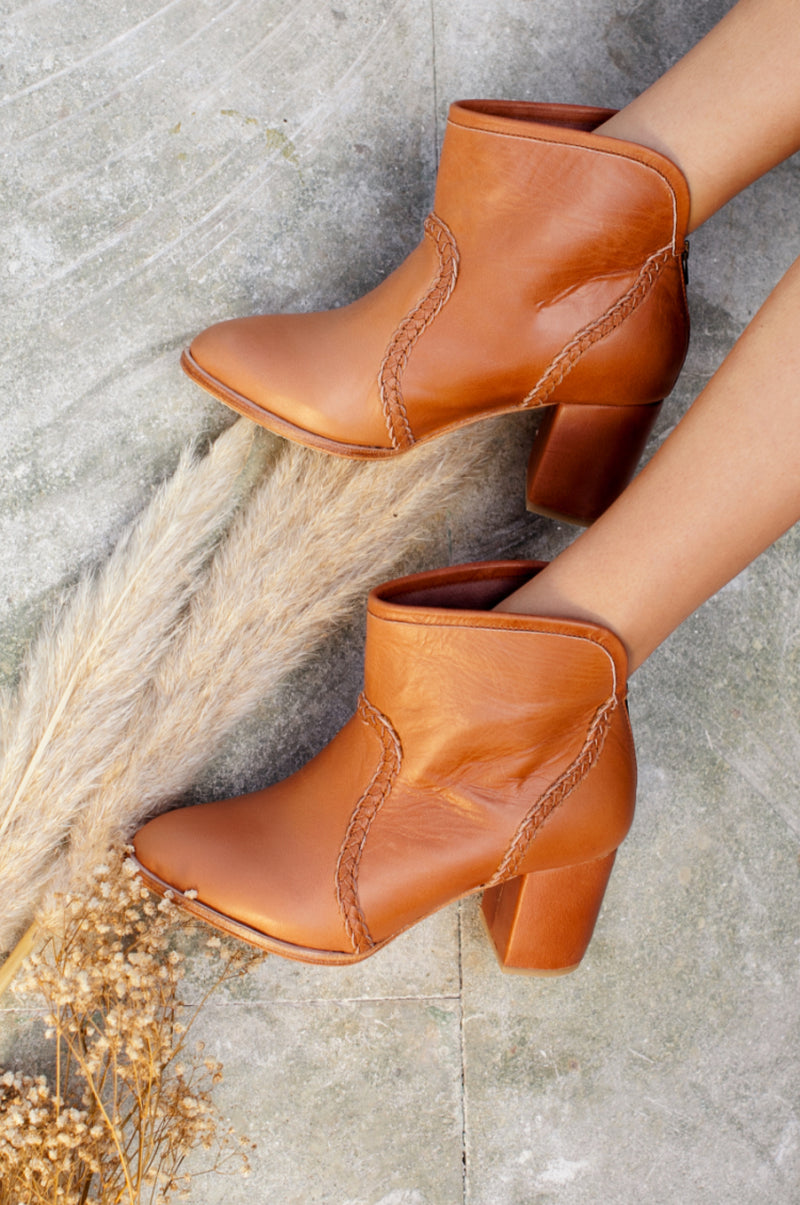 Rustic Road Leather Boots