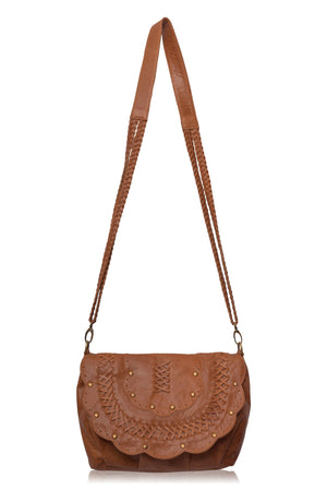 Silky Shore Crossbody Bag (Vintage Tan)
