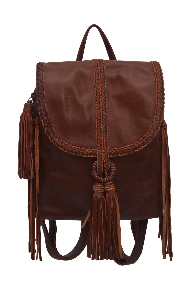 Leather Bag - Sandy Bay Backpack