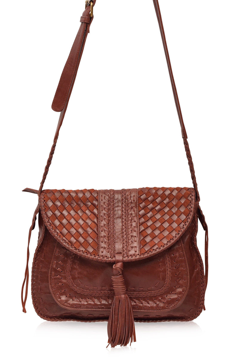 Leather Bag - San Tropez Leather Saddle