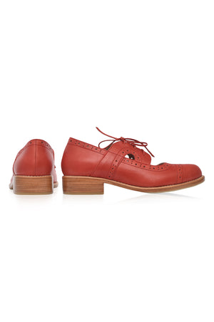 Scandinavia Leather Oxfords
