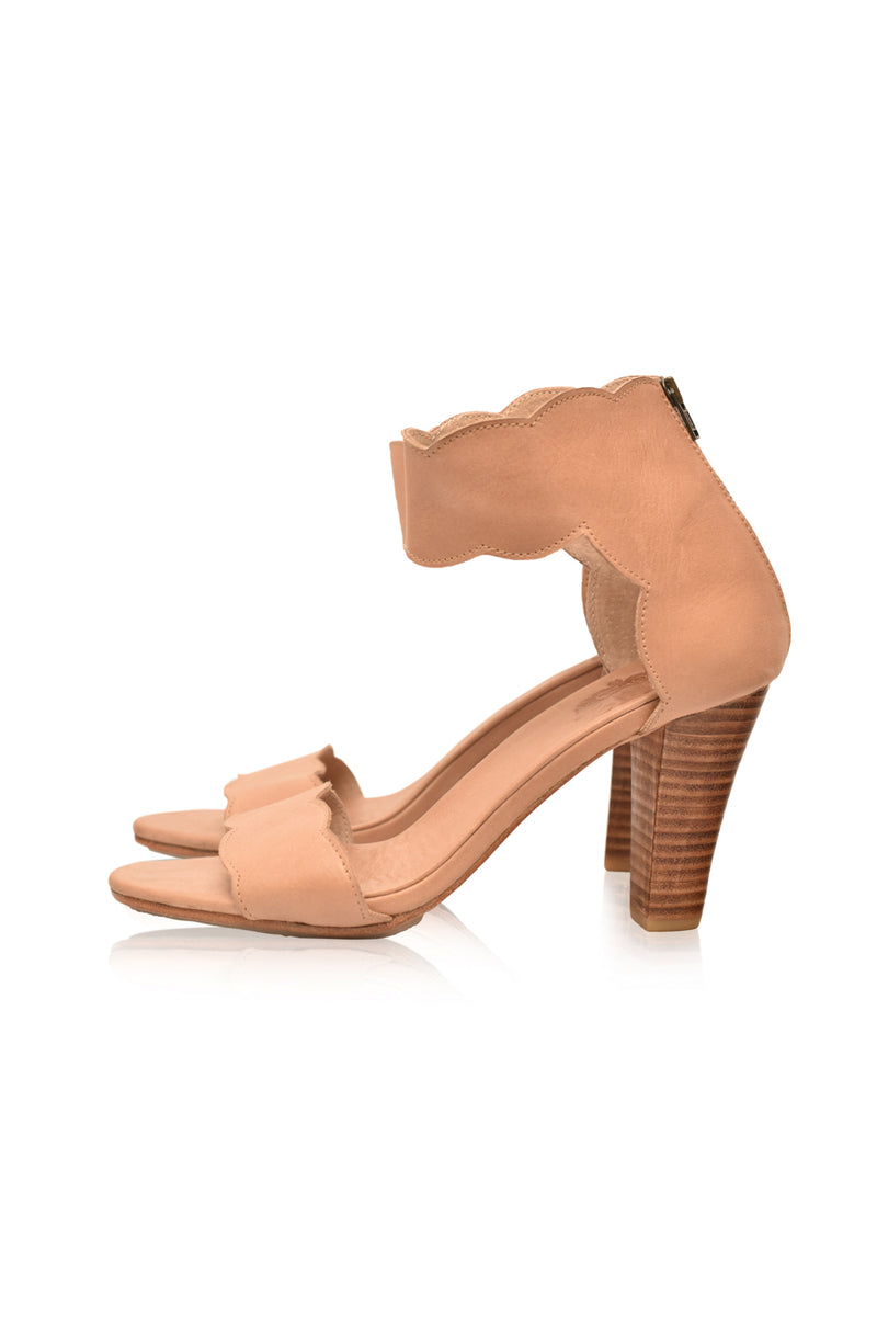 Spanish Mystery Leather Heels