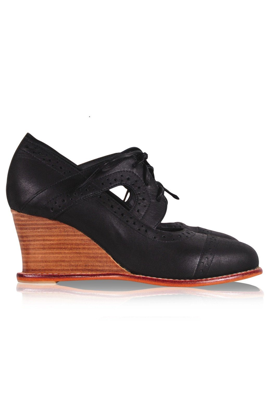 Stockholm Oxford Wedges
