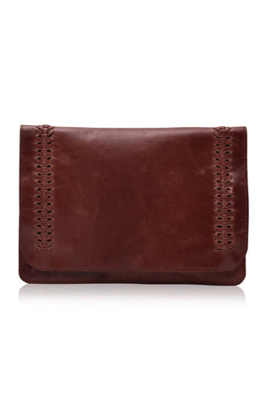 Leather Wallet/Clutch - Tulum Nights Clutch
