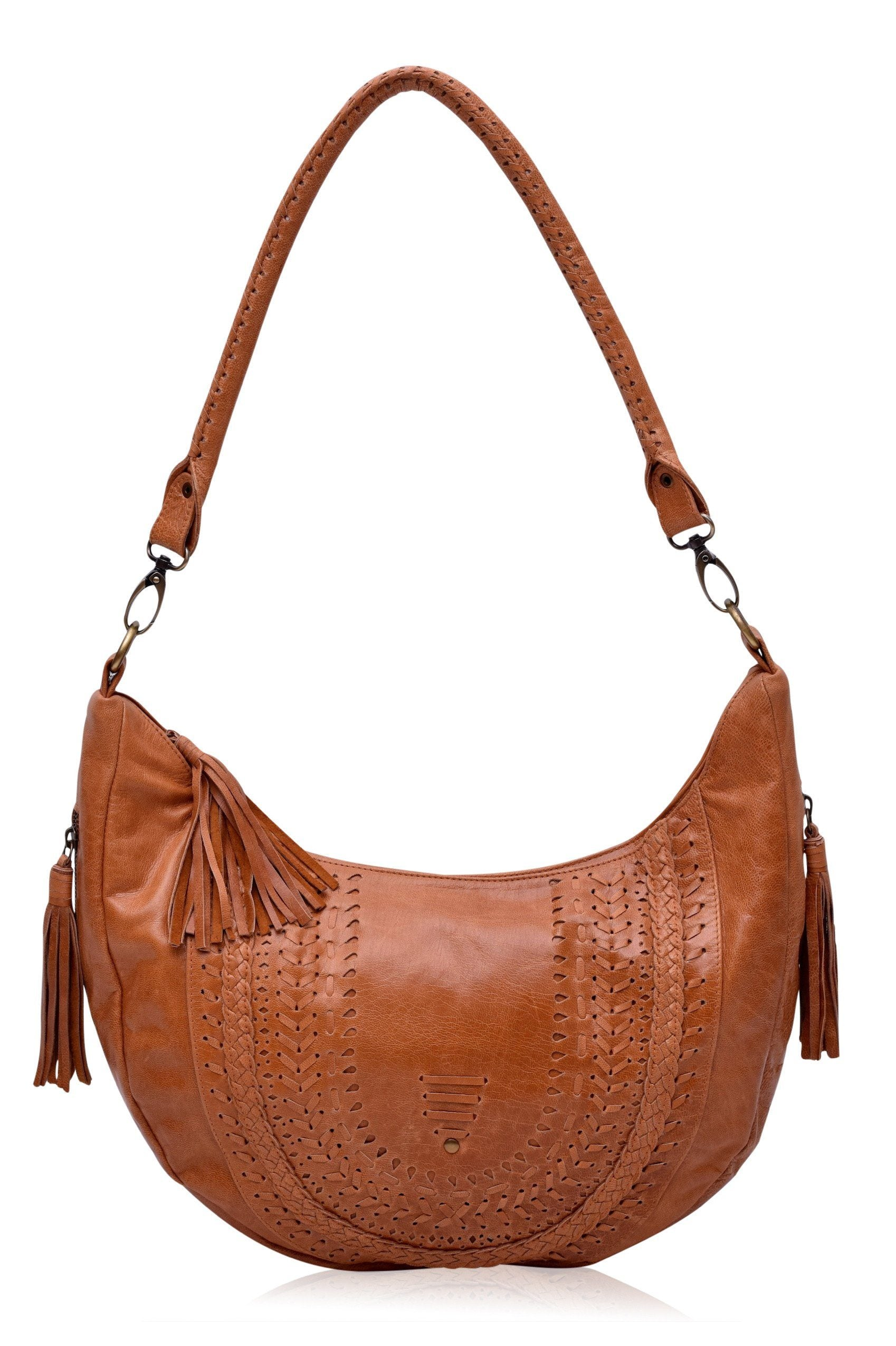 Elysian Coast. Handmade leather crossbody bag with leather detailing ... 1363a5e19