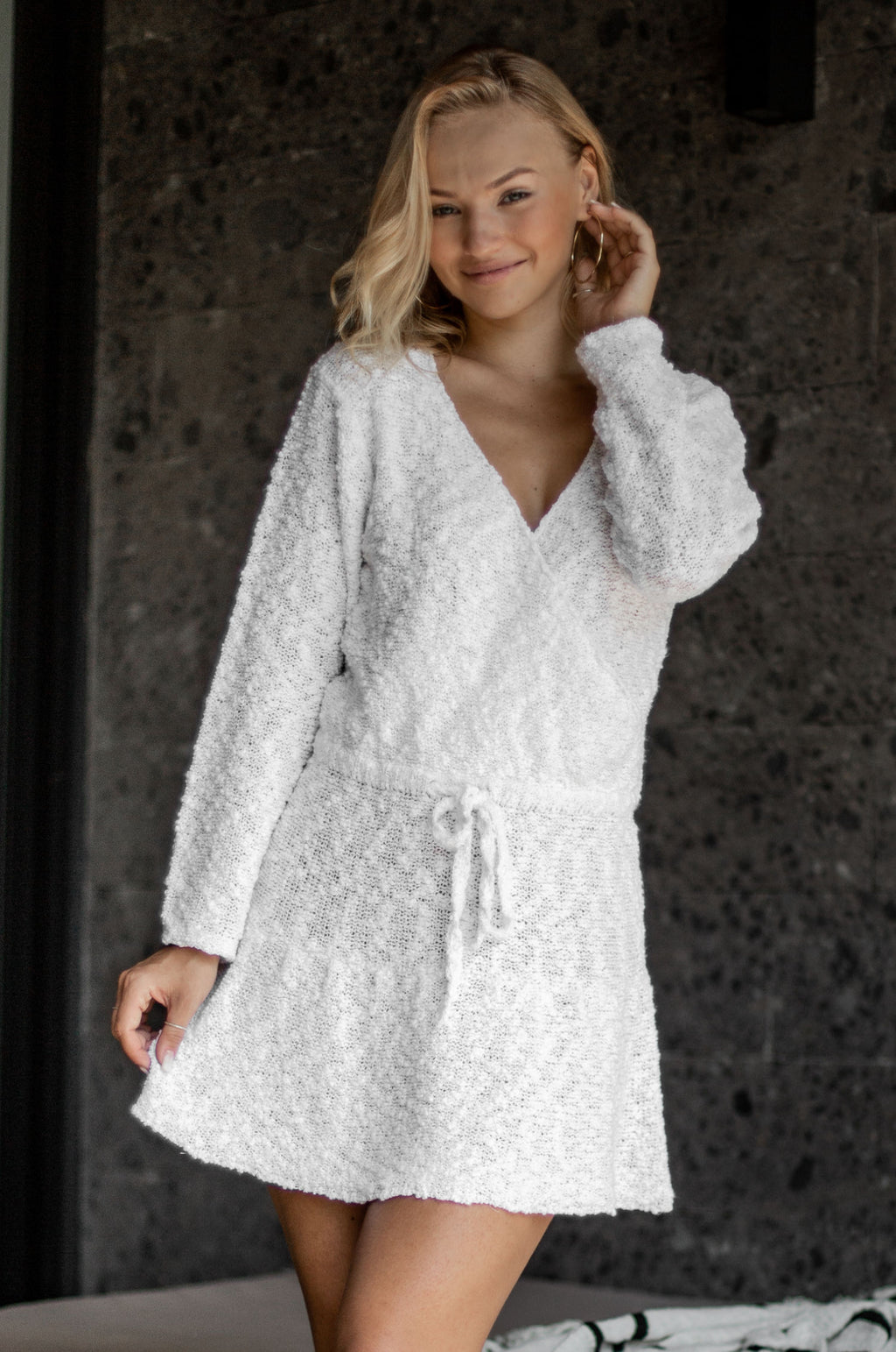 Willow Knitted Mini Dress
