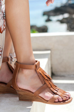 Fly Away Fringe Sandals