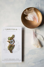 Load image into Gallery viewer, Hellebore Soft Enamel Pin