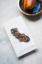Load image into Gallery viewer, California Poppy Enamel Pin