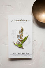 Load image into Gallery viewer, White Lily of the Valley Pin