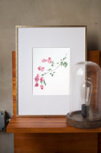 Load image into Gallery viewer, Bougainvillea Botanical Watercolor Artprint