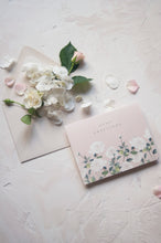 Load image into Gallery viewer, Blush Rose Watercolor Thank You Card