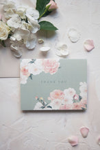 Load image into Gallery viewer, Sage Roses Watercolor Thank You Card