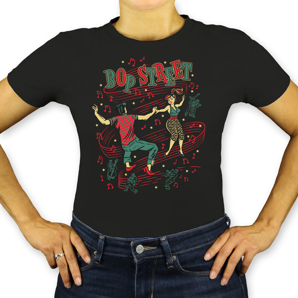 Bop Street Ladies T-Shirt